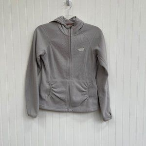 The North Face Fleece Jacket Zip Up Small Grey
